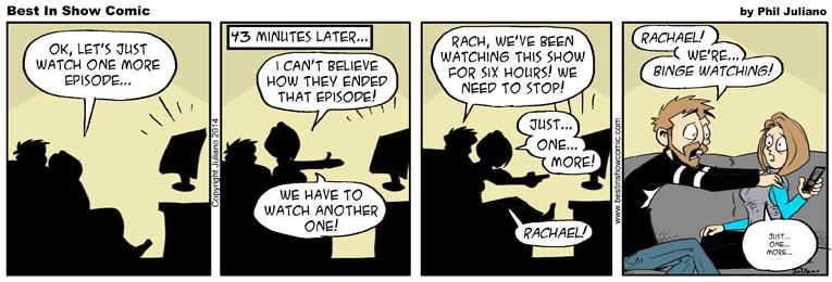 2014-02-28 Binge Watching